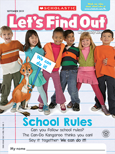 School Rules Let's Find out magazine.
